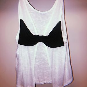 like new charlotte russe open back top